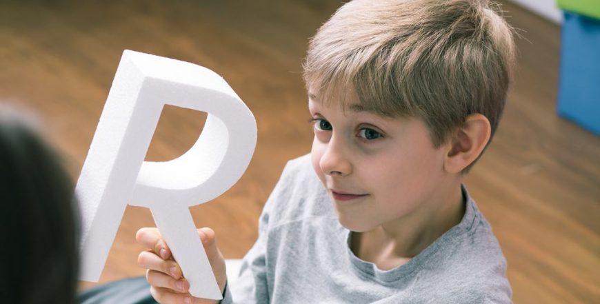 Meu filho não fala o R
